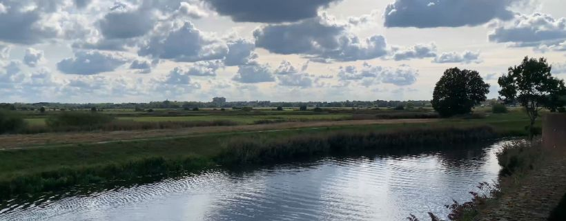 View from 's-Hertogenbosch.