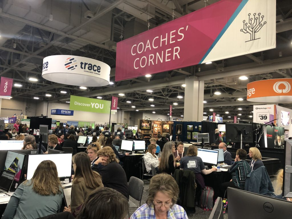 RootsTech 2020, coaches' corner
