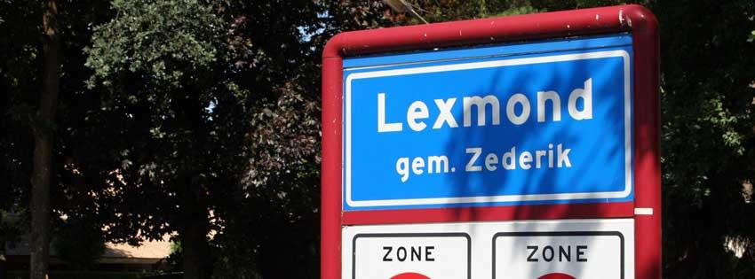 Street sign for Lexmond.