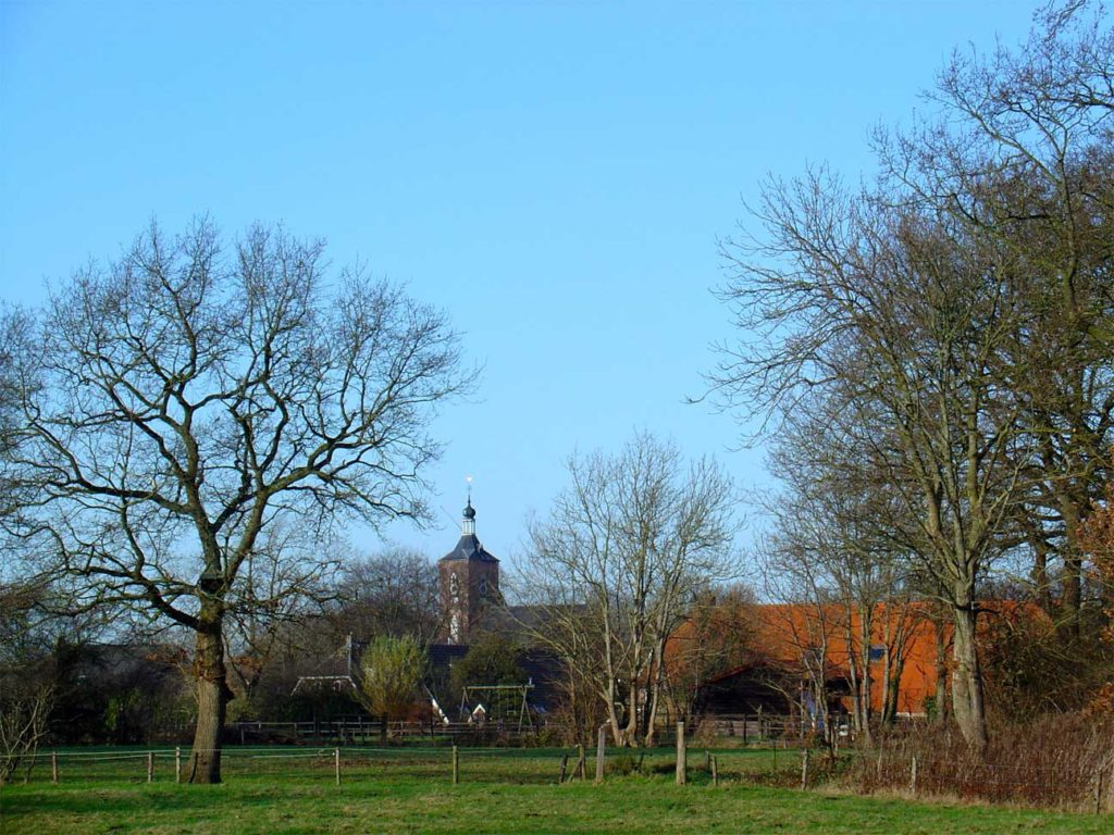photo of the village of Ruinen, Drenthe, 2009