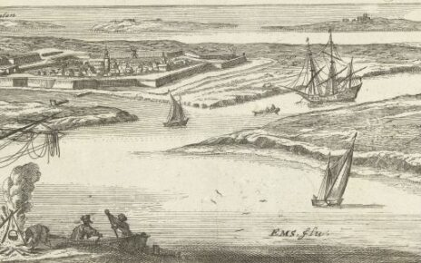View of Delfzijl and Ems rivier, 1679