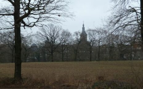 View of the Rolduc seminary in Roermond.